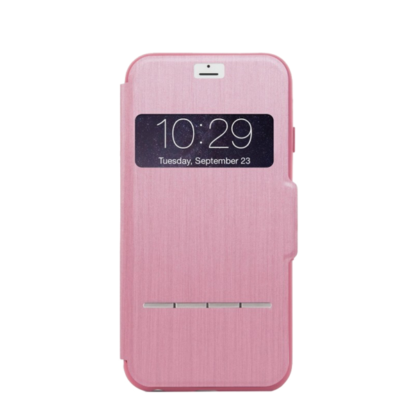 Funda dura SenseCover para iPhone 7 Moshi Rosada