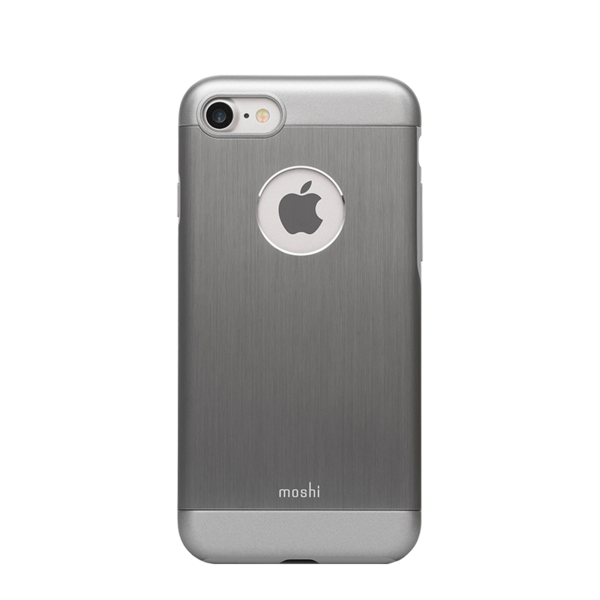 Funda iGlaze Armour para iPhone 7 Moshi Gris