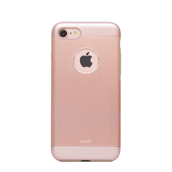 Funda iGlaze Armour para iPhone 7 Moshi Rose Gold