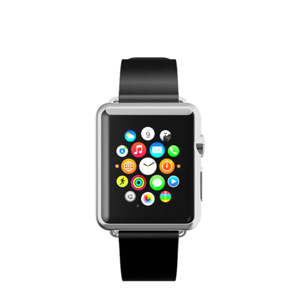 Banda de cuero para Apple Watch 42mm Incipio Negro