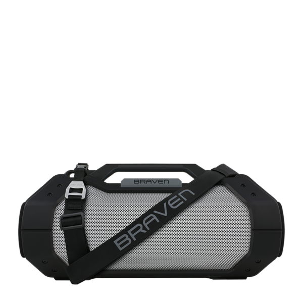 Parlante Portátil Bluetooth BRV-XXL Braven Negro/Plata