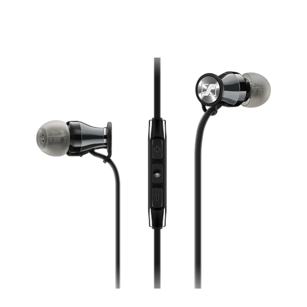 Audífonos In-Ear Sennheiser HD1 M2 iEi Negro/Plata