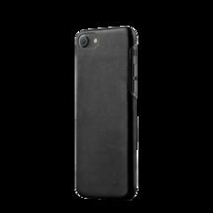 Funda de cuero para iPhone 7 Mujjo Negro