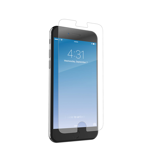 Lamina de cristal InvisibleShield Plus para iPhone 6 Plus, 6s Plus y 7 Plus Zagg
