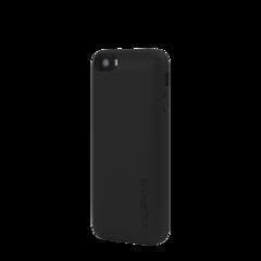 Funda dura con batería inteligente 1600 mAh para iPhone SE offGRID Smart Incipio Negra