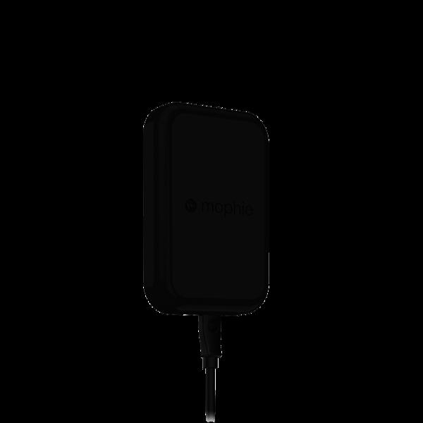 Soporte con carga inalámbrica para automóvil mophie charge force