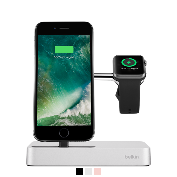 Base dock Belkin Valet para iPhone y Apple Watch
