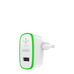Cargador USB 2.4A con cable Lightning Belkin BOOST↑UP™