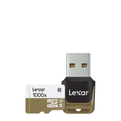 Tarjeta microSD Lexar Professional 1000x UHS-II