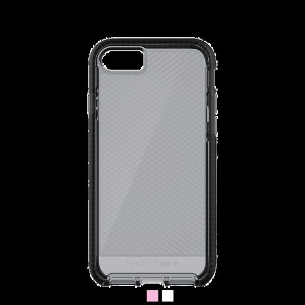 Funda dura Tech21 Evo Check para iPhone 8 / 7