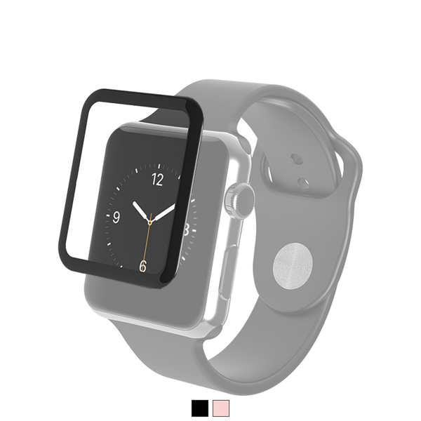 Lamina Zagg Glass Luxe para Apple Watch Series 2